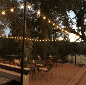 Lighted Patio